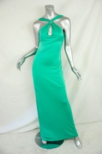 Greens Maxi Dress by Versus Versace Long Jeweled