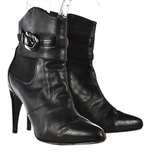 Via Spiga Womens Ankle Black Boots