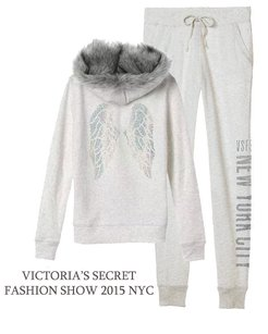 Victoria's Secret Victorias Secretfashion Show Lm Angel Wing Sweatshirt