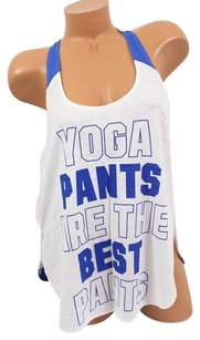 Victoria's Secret Pink Lyoga Pants Are The Bestracerback Tank Bluewhite T Shirt Purple