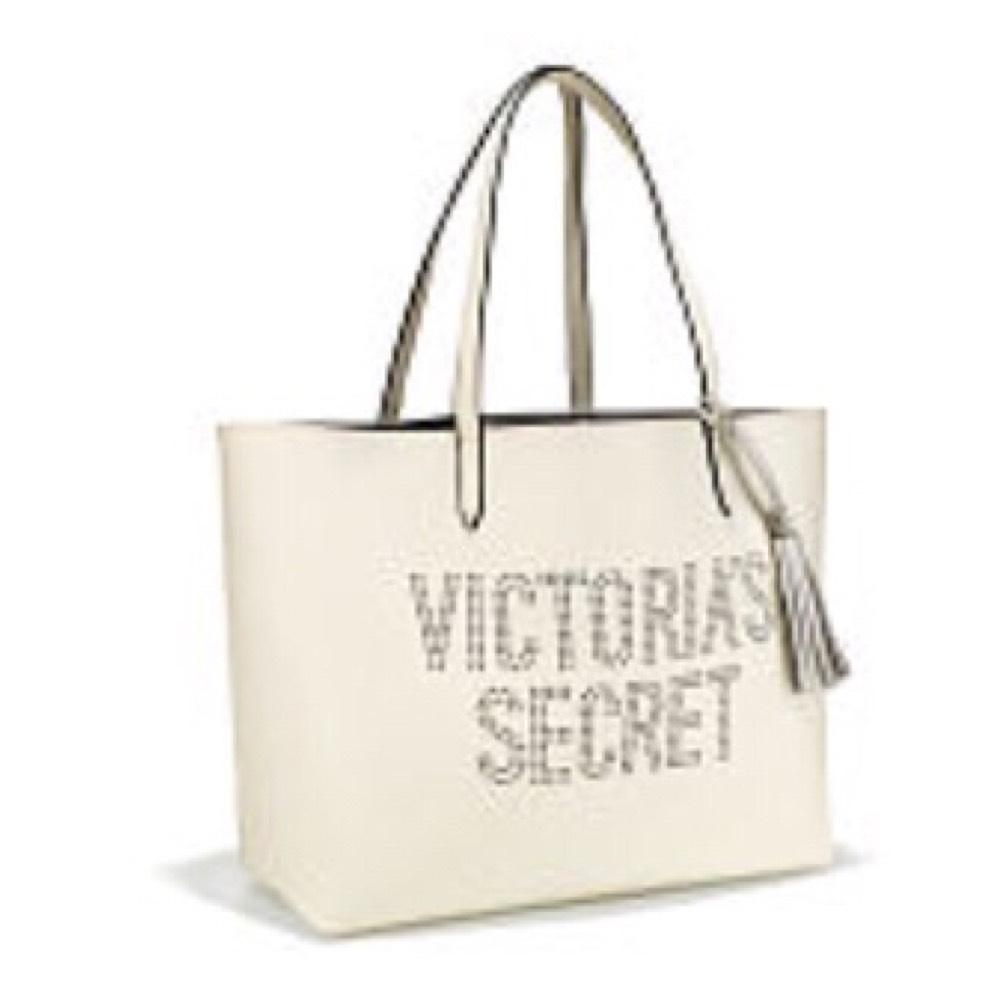 Victoria's Secret Vs Off White Tote Bag on Sale, 63% Off | Totes ...