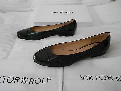 Viktor & Rolf Patent Leather Flats