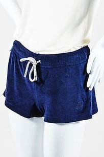 Vilebrequin Navy Cotton Shorts Blue