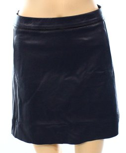 Vince A-line Leather New With Tags Skirt