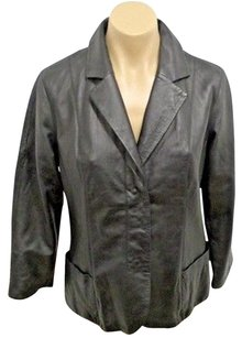 Vince Lightweight Genuine Black Jacket
