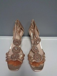 Vince Camuto Rose Gold Platforms