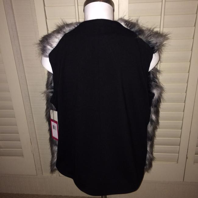 Vince Camuto Fur Faux Acrylic Small New Vest