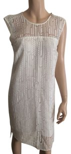 Vince Camuto short dress Off White. on Tradesy