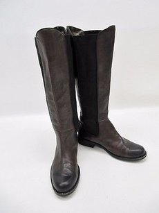 Vince Camuto Kent Leather Mid Calf 9b39 Brown Boots