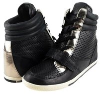 Vince Camuto Frankies Black Multi-Color Athletic