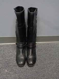Vince Camuto Side Black Boots