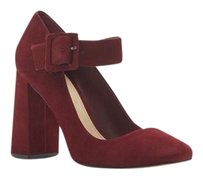 Vince Camuto Vanira Mary Jane BORDEAUX NUBUCK Pumps