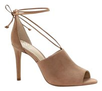 Vince Camuto Vevey Lace Up nude Pumps