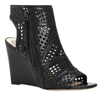 Vince Camuto Xabrina Perforated black Wedges