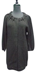 Vince Thin Knit Snap Closure Long Sleeved 4229a Sweater