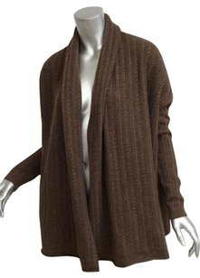 Vince Womens Casual Long Sleeve Cable Knit Cardigan Sweater