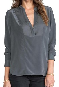 Vince Office Classy Classic Top Grey