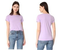 Vince T Shirt purple