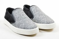 Vince Black White Suede Gray Athletic