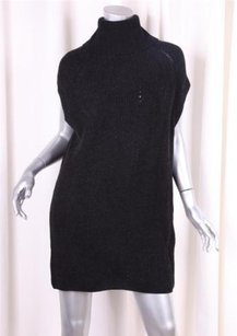 Vince short dress Black Womens Woolcashmere Knit Oversized Turtleneck Sweater on Tradesy