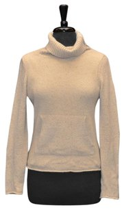 Vince A8 100 Cashmere Neck Zipper Two Pockets Sweater