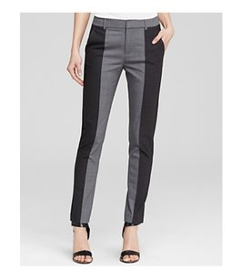 Vince Work Colorblock Relaxed Pants Black / Gray