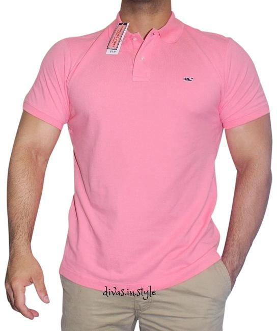 Vineyard Vines Men's Classic Pique Polo Solid Small Nwt Rare Top Strawberry Blonde - 43% Off Retail 60%OFF
