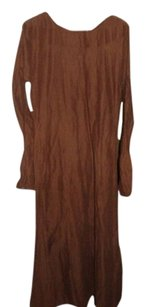brown Maxi Dress by Vintage Clothing