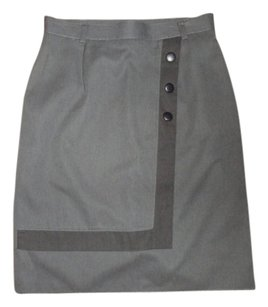 Vintage Clothing Small Mini Skirt gray