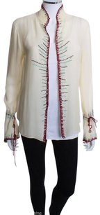 Vivienne Tam Silk Embroidered Tunic