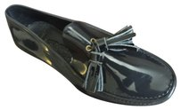 VIVIENNE WESTWOOD GLOSSY PLASTIC LOAFERS SHOES Flats