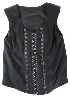 VPL Black Nwt Top Ao Vest