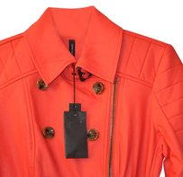 W118 by Walter Baker Red Leather Jacket