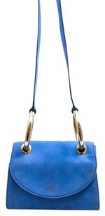 Walter Steiger Suede Structured Cross Body Bag