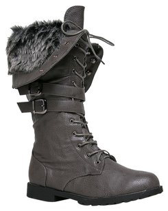 West Blvd Gray Boots