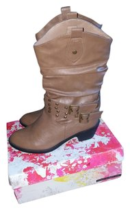 West Boulevard Brown/Taupe Boots