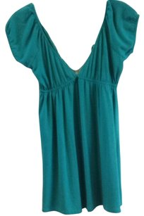 Wet Seal short dress Turquoise on Tradesy
