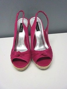 White House | Black Market bright pink Platforms