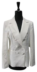 White House | Black Market White House Black Market Black Double Button Lined Solid Blazer 5498 A