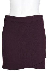 Wilfred Womens Skirt Burgundy