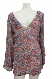 Winter Kate Savannah Chiffon Print Tunic