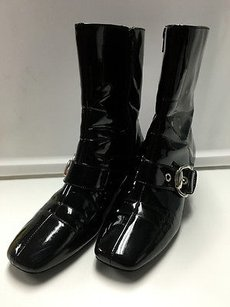 Yellow Box Synthetic Black Boots