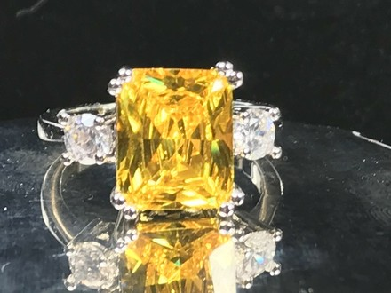 Preload https://item4.tradesy.com/images/yellow-sterling-silver-plated-limited-citrine-and-7002-engagement-ring-21551278-0-0.jpg?width=440&height=440