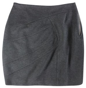 Yigal Azroul Azrouel Charcoal Mini Skirt