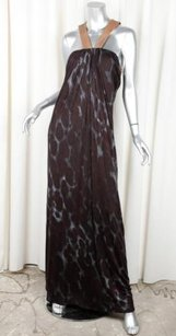 Multi-Color Maxi Dress by Yigal Azrouël Azrouel Womens Brown