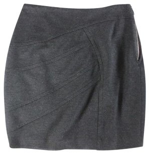 Yigal Azrouël Yigal Mini Mini Mini Skirt Charcoal