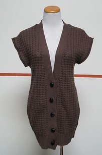 Young Fabulous & Broke And Cotton Sleeveless Button Front 25509 Sweater