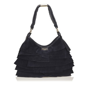 Saint Laurent Blue Leather Navy Shoulder Bag