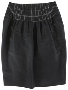 Saint Laurent 40 Fr Nwt Lk Skirt