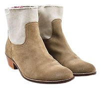 Zadig & Voltaire Suede Taupe Boots
